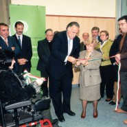 Inauguración del Centro de Rehabilitación Eugenia Epalza