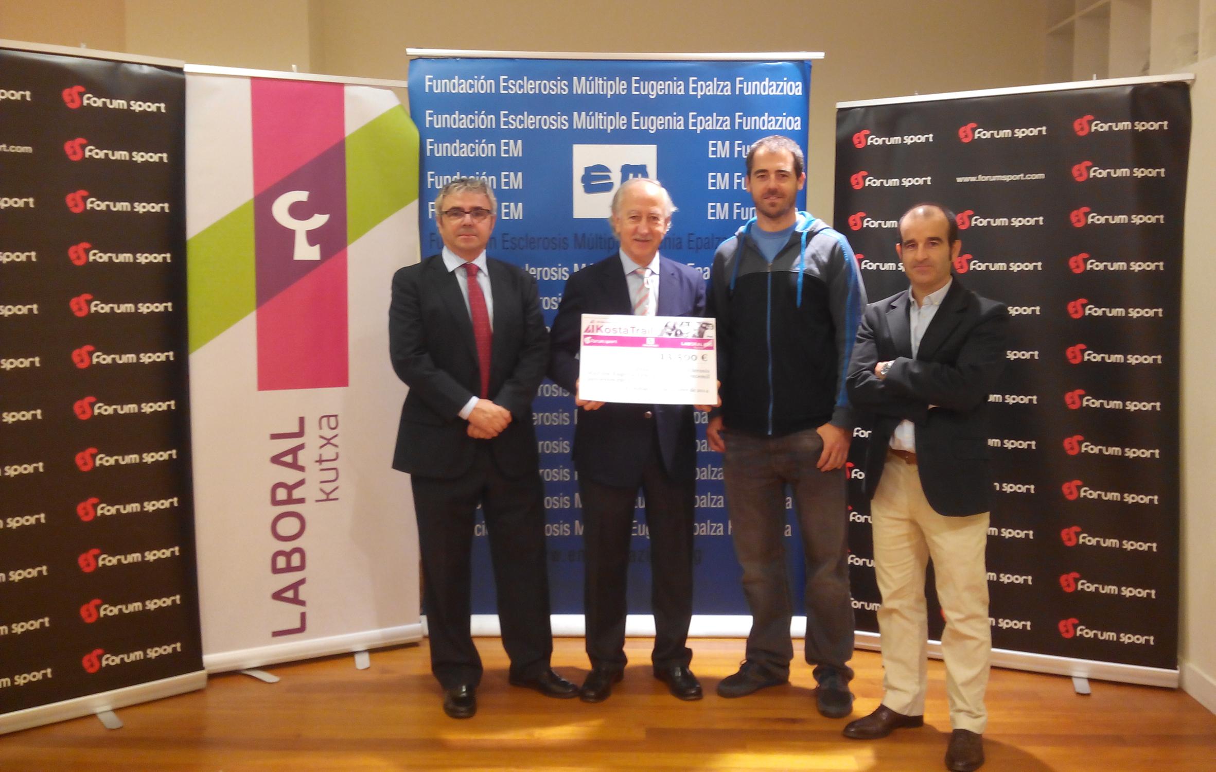 La 09. Kosta Trail recauda 13.500 euros para la lucha contra la esclerosis múltiple