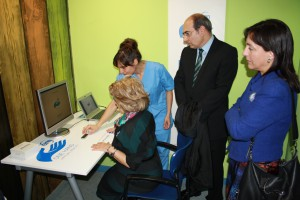 Visita de Jon Darpón al Centro EM de Bilbao