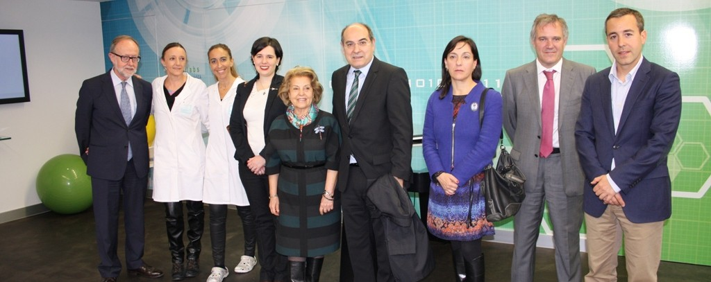 Visita del Jon Darpón al Centro EM de Bilbao