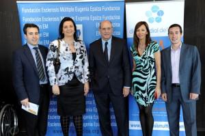 Pedro Carrascal, Alicia Riba, Rafael Bengoa, Marta Fernández e Iñigo Uria