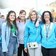 Ricardo Barkala, Paula, Marta Ajuria, Ibone Bengoetxea y Beatriz Marcos también hicieron cumbre en Artxanda