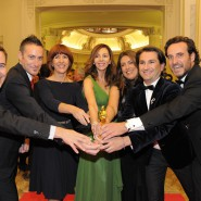 Pedro Carrascal, Jon Alonso, Mónica Padró, Marta Fernández Rivera, Cynthia Martínez Mora, Jorge Canivell eta Jaime Vilallonga