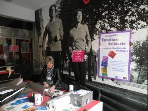 Envoltorio Solidario en Forum Sport