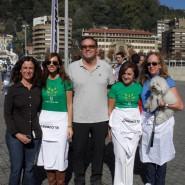 Iñigo Barrenetxea, director general de ELCORREO, junto a Marta Mateos, Marta Fernández, Mª Angeles Lara y Marta de la Rica.