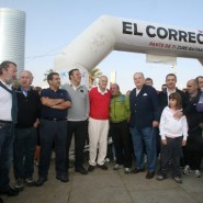 Iñaki Azkuna, alcalde de Bilbao fue el encargado de dar inicio a la marcha, junto a Iñigo Barrenetxea, director de El Correo; Javier Ormazabal, presidente de la Fundación EM y el montañero, Juanito Oiarzabal entre otros.